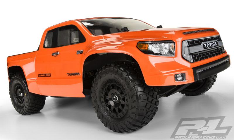 Proline Toyota Tundra >> Proline PR3476-00 Toyota Tundra TRD Pro True Scale Clear Body for PRO-2 SC, Slas