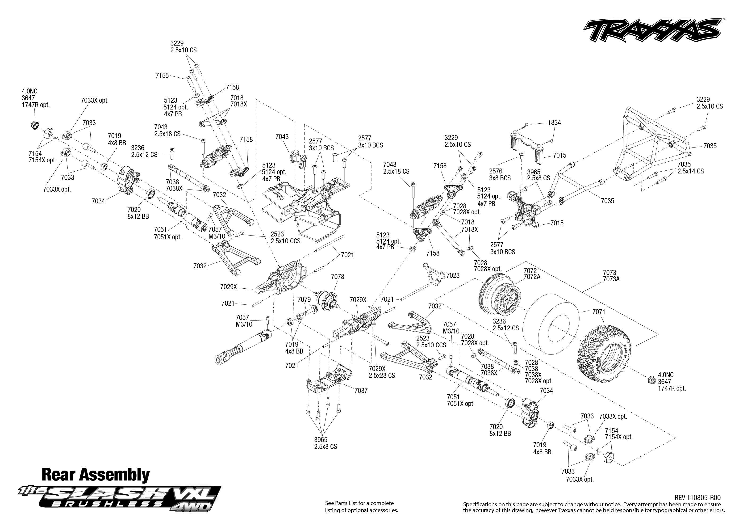 traxxas e revo 1 16 vxl manual