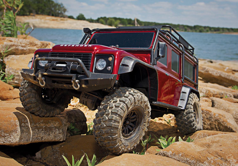 traxxas trx 4 land rover crawler trx82056 4 rood of grijs. Black Bedroom Furniture Sets. Home Design Ideas