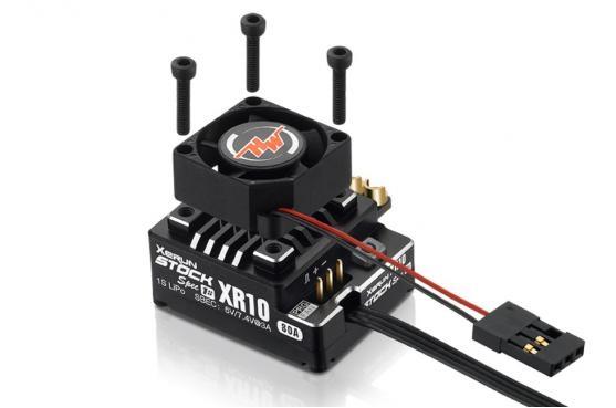 XeRun XR10 PRO-STOCK SPEC-1S V4 ESC, 80A, Black   Trxxs ...
