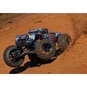 TRAXXAS X-Maxx Special Edition Rock and Roll Met 30+ volt en extreme 8s power Brushless Monstertruck TRX77086-4RR