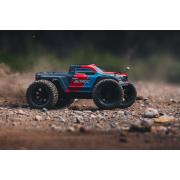 Arrma - Granite Voltage 2WD 1/10 Monster Truck RTR - 18650 Li-Ion (2x) - AC-Lader - Rood / Zwart