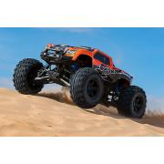 TRAXXAS X-Maxx Special Edition Oranje Met 30+ volt en extreme 8s power Brushless Monstertruck TRX77086-4O