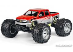 PR3230-00 2007 Chevy Silverado Clear Body E-MAXX 3905,