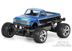 PR3251-00 1972 Chevy C-10 Clear Body Stampede