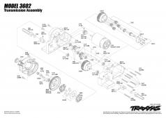 Traxxas Transmissie Son of a Digger