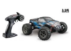"Absima 1:16 Elektro Modelauto High Speed Monster Truck ""SPIRIT"" zwart/blauw 4WD RTR"
