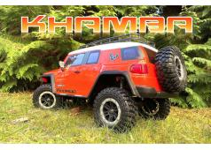 "Absima 1:10 EP Crawler CR3.4 ""KHAMBA"" ORANGE RTR"