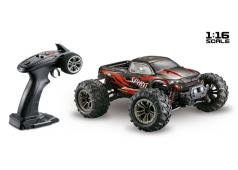 "Absima 1:16 Elektro Modelauto High Speed Monster Truck ""SPIRIT"" zwart/rood 4WD RTR"