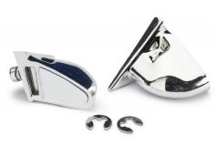 Absima Rear Mirror Set Type A chrome (2) 2320003