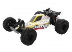 ECX AMP 2WD Dune Buggy RTR 2.4GHz 1/10 Rood - wit