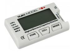 Digital Battery Capacity Checker - NiCd - NiMH - LiFE - LiPo