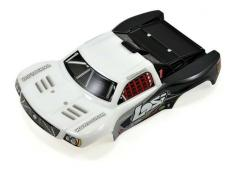 Losi 1/24 4WD Micro SCT Painted Body, White LOSB1782