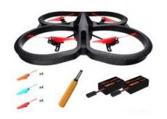Parrot AR.Drone 2.0 v2 Power Edition (2X HD accu+4x props)
