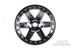 "PR2728-11 Desperado 2.8"" (Traxxas Style Bead) Black Chrome Front"