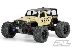 PR3405-00 Jeep Wrangler Unlimited Rubicon Clear Body vo