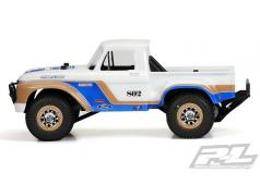 PR3408-00 1966 Ford F-100 Clear Body voor PRO-2 SC, 2WD