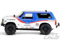 PR3423-00 1981 Ford Bronco Clear Body for PRO-2 SC, Sla
