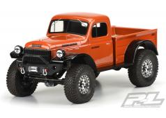 PR3499-00 1946 Dodge Power Wagon Clear Body for 12.3Inch (313mm) Wheelbase Scale Crawlers