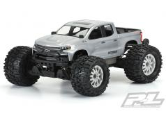 PR3506-00 2019 Chevy Silverado Z71 Trail Boss Clear Body for PRO-MT 4x4 & Stampede 4x4