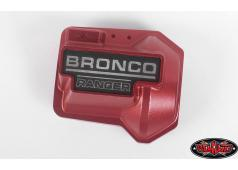 RC4WD Aluminium Diff Cover voor Traxxas TRX-4 '79 Bronco Ranger XLT (rood)