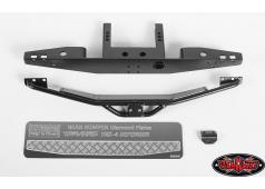 RC4WD Rook Metal Rear Bumper for Traxxas TRX-4