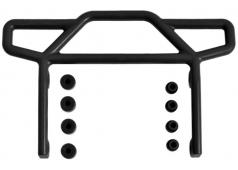 RPM70812 Black Rear Bumper for the Traxxas Electric Rustler