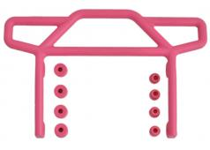 RPM70817 Pink Rear Bumper for the Traxxas Electric Rustler