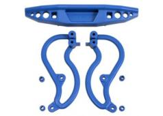 RPM70835 Blue Rear Bumper for the Traxxas Stampede 2wd