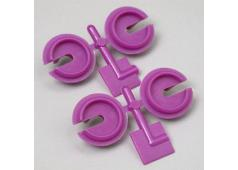RPM73158 Purple Shock Spring Cups, Losi, Traxxas