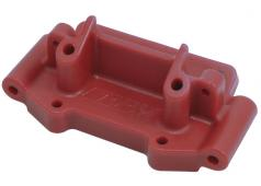 RPM73759 Red Front Bulkhead for most Traxxas 1:10 scale 2wd Vehi