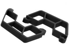 RPM73862 Black Nerf Bars for the Traxxas LCG Slash 2wd