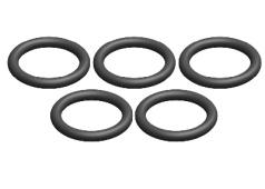 C-00180-191 O-Ring - Silicone - 9x12mm - 5 pcs