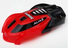 Traxxas TRX6611 Canopy, Alias, red/ 1.6x5mm BCS (self-tapping) (