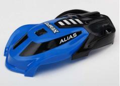Traxxas TRX6612 Canopy, Alias, blue/ 1.6x5mm BCS (self-tapping)