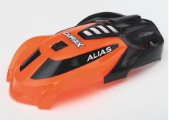 Traxxas TRX6613 Canopy, Alias, orange/ 1.6x5mm BCS (self-tapping