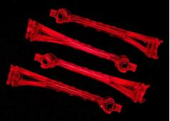 Traxxas TRX6651 LED lens, red (4)