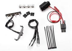 Traxxas TRX7285 LED-licht kit, 1/16e Summit (voeding, chroom lic