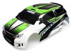 Traxxas TRX7513 Body, LaTrax Rally, green (painted)/ decals