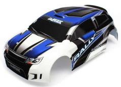 Traxxas TRX7514 Body, LaTrax Rally, blue (painted)/ decals