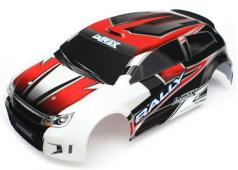 Traxxas TRX7515 Body, LaTrax Rally, red (painted)/ decals