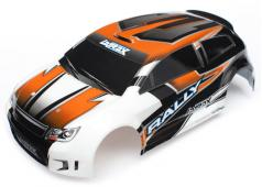 Traxxas TRX7517 Body, LaTrax Rally, Oranje (geschilderd) / stickers
