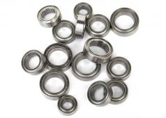 Traxxas TRX7541X Bearings: 4x8mm (2), 6x10mm (8), 8x12mm (5)