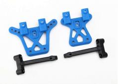 Traxxas TRX7637 Shock tower, front (1), rear (1)/ shock tower br