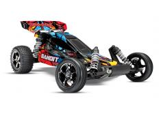 Traxxas Bandit VXL Brushless Rock and Roll, met TSM TRX24076-4 Zonder Accu en Lader