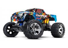 Traxxas Stampede XL-5, zonder Accu en Lader Rock and Roll TRX36054-4RR