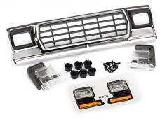 Traxxas TRX8070 Grill, Ford Bronco / grillvasthouders (3) / koplampbehuizing (2) / lens (2) (past op 8010 Body)