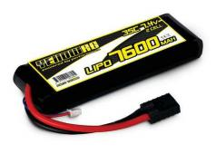 Yellow RC LiPo 7600mAh 7.4V 2S 35C , Summit, E-Revo Slash