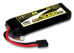 Yellow RC LiPo 5000mAh 11.1V 3S 35C , Summit, E-Revo Slash