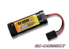 Yellow RC Traxxas Mini 1/16 Pack, 7.2V, 1300mAH NiMH, Yellow RC